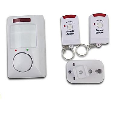 ασύρματης ανίχνευσης κίνησης υπέρυθρο σύστημα συναγερμού με δυο τηλεχειριστήρια για την ασφάλεια στο σπίτι