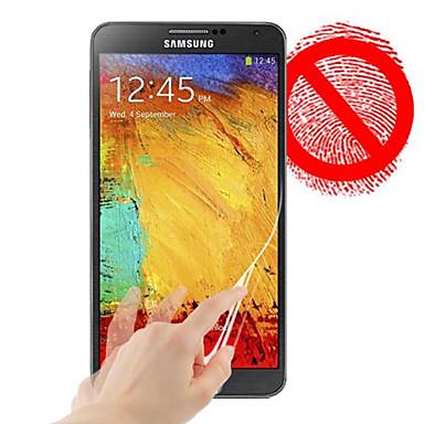 Ecran protector pentru Samsung Galaxy Note 3 PET Ecran Protecție Față Mat