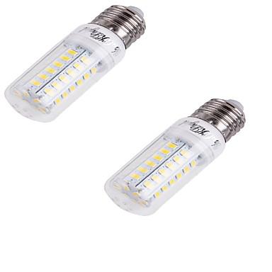 E26/E27 Becuri LED Corn T 56 led-uri SMD 5730 Decorativ Alb Rece 240lm 6000K AC 220-240V
