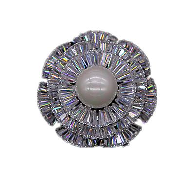 Dame Broșe La modă Perle Zirconiu Zirconiu Cubic Bijuterii Pentru Nuntă Petrecere Zilnic Casual