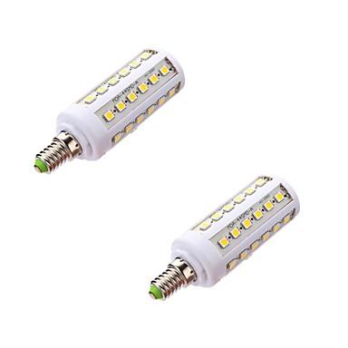 E14 Żarówki LED kukurydza T 44 Diody LED SMD 5050 Ciepła biel 800lm 5000-6500K AC 220-240V