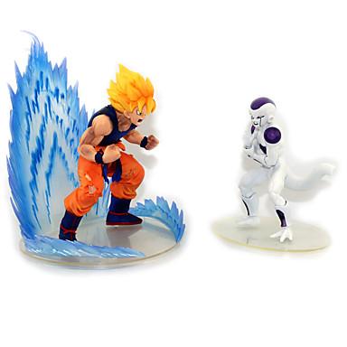 Anime Toimintahahmot Innoittamana Dragon Ball Goku Anime Cosplay-Tarvikkeet kuvio PVC