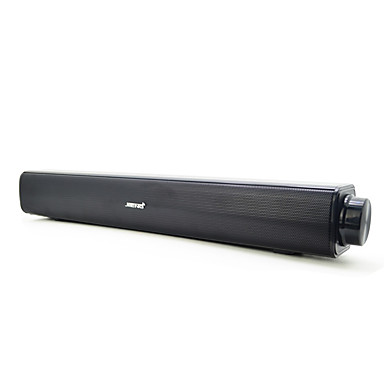 Mini Portatif Süper bas Stereo RCA 3.5mm AUX Kitaplık bilgisayar hoparlörü Siyah