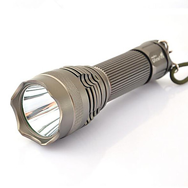 Latarki LED LED 1200 lm 5 Tryb LED z baterią i ładowarką Zoomable Regulacja promienia Wodoodporne Niewielki rozmiar Superlekkie