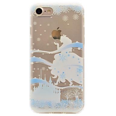 Για Ανθεκτική σε πτώσεις Ανάγλυφη Με σχέδια tok Πίσω Κάλυμμα tok Σέξι κυρία Μαλακή TPU για AppleiPhone 7 Plus iPhone 7 iPhone 6s Plus/6
