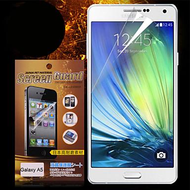 Protetor de Tela para Samsung Galaxy A5 PET Protetor de Tela Frontal Alta Definição (HD)