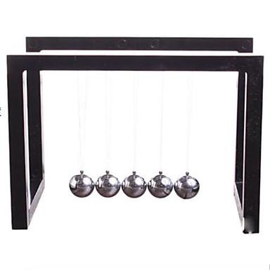 Toplar Newton Beşik Denge Topu Oyuncaklar Dörtgen Metal Genç Erkek Genç Kız Parçalar