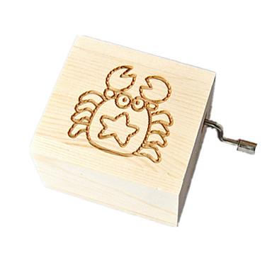 Music Box Zabawki Kwadrat Słodkie Specjalne Kreatywne Sztuk Dla chłopców Dla dziewczynek Urodziny Walentynki Dzień Dziecka Prezent