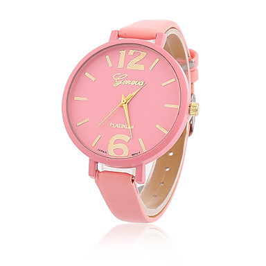 Women's Ladies Wrist Watch Quartz Leather Black / White / Blue Casual Watch Analog Casual Fashion - Blue Pink Light Green One Year Battery Life / Tianqiu 377