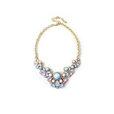 Dame Coliere Bijuterii Heart Shape Picătură Agat Diamante Artificiale Design Unic European Bijuterii Pentru Zilnic Casual