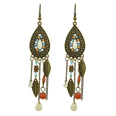 Pentru femei Cercei Picătură Aliaj Bijuterii Alb Casual Costum de bijuterii