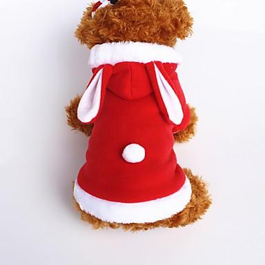 كلب ازياء تنكرية هوديس ملابس الكلاب جميل الكوسبلاي حيوان أحمر زهري كوستيوم للحيوانات الأليفة