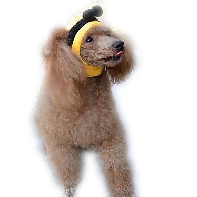Kot Pies Bandany i kapelusze Ubrania dla psów Urocza Rysunek Yellow
