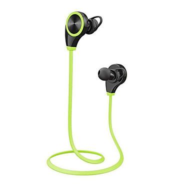 Q8 Kulakta Kablosuz Kulaklıklar Dengeli Armatür Plastik Spor ve Fitness Kulaklık Ses Kontrollü Mikrofon ile kulaklık