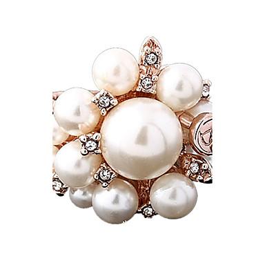 Εντυπωσιακά Δαχτυλίδια Μαργαριτάρι Κράμα Μοντέρνα Χρυσό Κοσμήματα Πάρτι 1pc