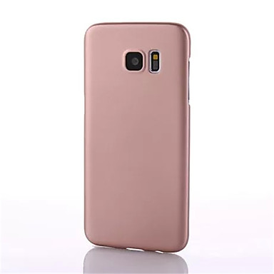 Pouzdro Uyumluluk Samsung Galaxy S8 Plus S8 Ultra İnce Arka Kılıf Tek Renk Sert PC için S8 S8 Plus S7 edge S7