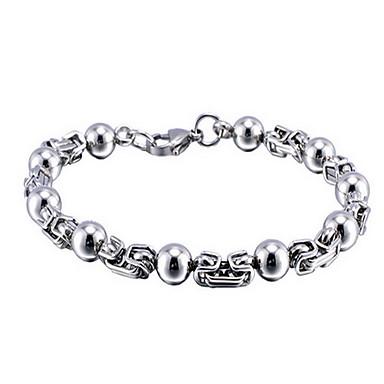 Erkek Zincir & Halka Bileklikler Arkadaşlık alaşım Mücevher Mücevher Uyumluluk Günlük