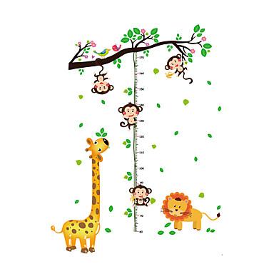 حيوانات أزياء النباتية ملصقات الحائط لواصق حائط الطائرة لواصق حائط مزخرفة لواصق المرتفعات, الفينيل تصميم ديكور المنزل جدار مائي جدار زجاج