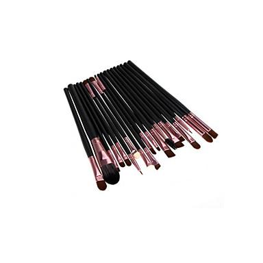 20 Zestawy Brush Pędzel nylonowy Pełne pokrycie Drewno Twarz Pełne pokrycie