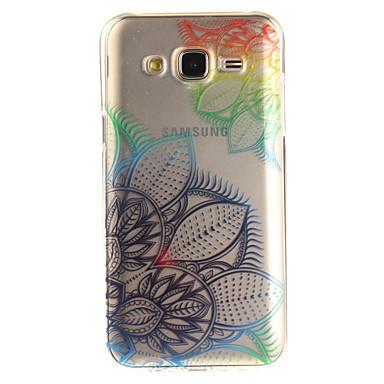 Kılıf Na Samsung Galaxy J5 (2016) J3 (2016) IMD Przezroczyste Wzór Etui na tył Kwiaty Miękkie TPU na J5 (2016) J5 J3 (2016) J3 Grand Prime