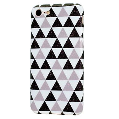 Pentru iPhone 7 iPhone 7 Plus iPhone 6 Carcase Huse IMD Carcasă Spate Maska Luciu Strălucire Moale TPU pentru Apple iPhone 7 Plus iPhone