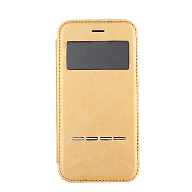 tok Για Apple iPhone 8 iPhone 8 Plus iPhone 6 iPhone 7 Plus iPhone 7 Προστασία από τη σκόνη με παράθυρο Επιμεταλλωμένη Ανοιγόμενη Πλήρης