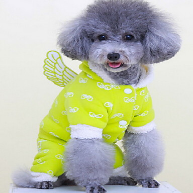 Câine Haine Îmbrăcăminte Câini Draguț Solid Verde Albastru Roz Costume Pentru animale de companie