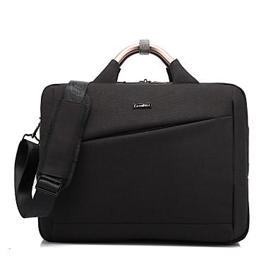 Coolbell 15,6 cala nylon wodoodporny zamek błyskawiczny laptop komputer torba torba biznesowa cb-6605