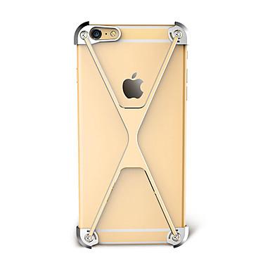 Maska Pentru Apple iPhone 7 iPhone 7 Plus iPhone 6 Anti Șoc Tampon Culoare solidă Greu Aluminiu pentru iPhone 7 Plus iPhone 7 iPhone 6s
