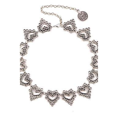 Kadın Oval Vintage Euramerican Gerdanlıklar Mücevher alaşım Gerdanlıklar , Parti Doğumgünü Günlük