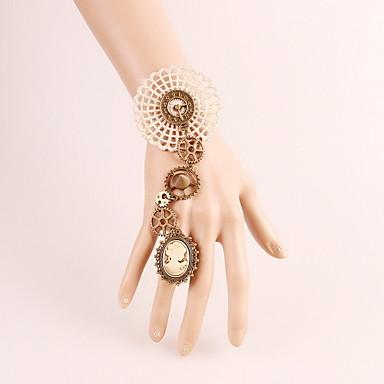 Kadın Yüzük Bileklikler Vintage Gotik Dantel Mücevher Halloween