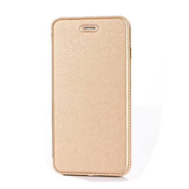 Kılıf Na Apple iPhone 7 Plus iPhone 7 Etui na karty Z podpórką Flip Pełne etui Solid Color Twarde Skóra PU na iPhone 7 Plus iPhone 7