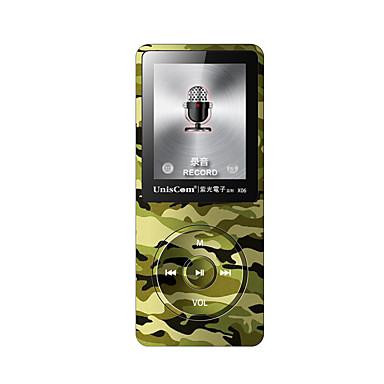 Uniscom MP3 MP3 WMA WAV FLAC APE OGG AAC بطارية  Li-ion قابلة للتشحين