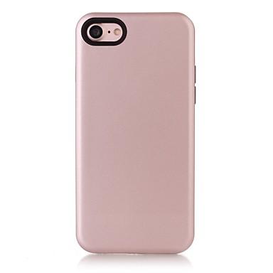 Için Şoka Dayanıklı Pouzdro Arka Kılıf Pouzdro Solid Renkli Yumuşak PU Deri için AppleiPhone 7 Plus iPhone 7 iPhone 6s Plus/6 Plus iPhone