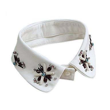 Pentru femei Formă De Bază Guler Ștras Perle Dantelă Diamante Artificiale Guler Zilnic Casual Costum de bijuterii