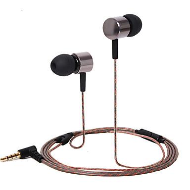 Huastay HST-47 W uchu Przewodowy/a Słuchawki Dynamiczny Aluminum Alloy Telefon komórkowy Słuchawka Izolacja akustyczna Zestaw słuchawkowy