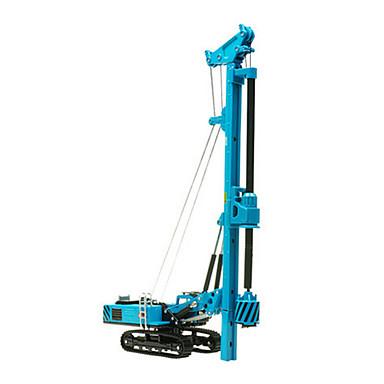 Sondaj kulesi Oyuncak Kamyonlar ve İnşaat Araçları Oyuncak Arabalar 1:60 İçeri Çekilebilir Metal Alaşımlı Plastik ABS Metal 1pcs Genç Kız