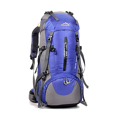 45 L Plecaki turystyczne Małe plecaki Podróż sportowa plecak Kemping i wycieczki Podróżowanie Wodoodporny Rain-Proof Pyłoszczelne Zdatny