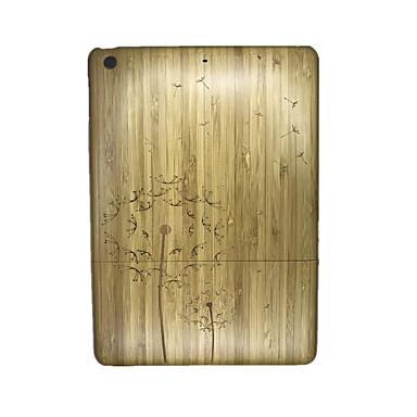 Na Wytłaczany wzór Kılıf Etui na tył Kılıf Dmuchawiec Twarde Drewno na Apple iPad Air