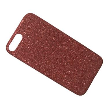 Için Buzlu Pouzdro Arka Kılıf Pouzdro Solid Renkli Yumuşak TPU için Apple iPhone 7 Plus iPhone 7
