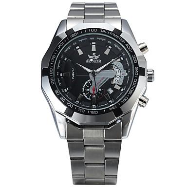 Ανδρικά μηχανικό ρολόι Ρολόι Καρπού Μοδάτο Ρολόι Αθλητικό Ρολόι Αυτόματο κούρδισμα Καθημερινό Ρολόι κράμα Μπάντα Βίντατζ Καθημερινό