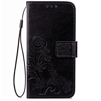 Για Θήκη καρτών Πορτοφόλι tok Πλήρης κάλυψη tok Μονόχρωμη Μαλακή Συνθετικό δέρμα για Huawei Huawei Honor V8 Huawei Mate 9