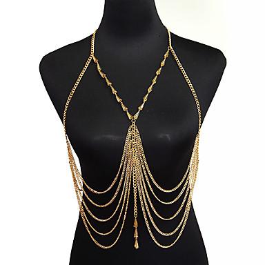 Altele Lănțișor Buric / Corp lanț / burtă lanț - Pentru femei Auriu Regulat / Boem / Modă Bijuterii de corp Pentru Cadouri de Crăciun /