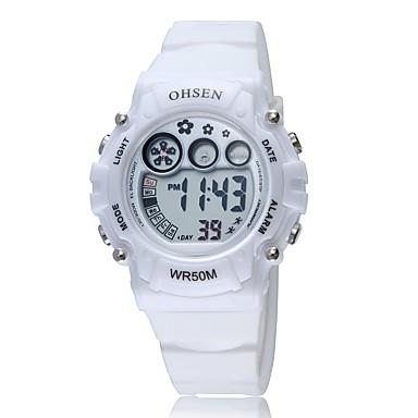 Męskie Zegarek na nadgarstek Modny Sportowy Kwarcowy Silikon Pasmo Vintage Na co dzień Wielokoloroe