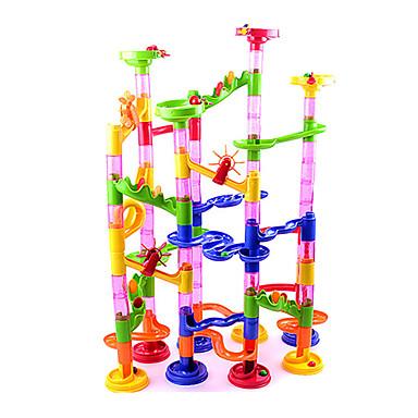 Zestawy do konstrukcji torów Tory dla kulek Zabawne ABS Wysoka jakość 105pcs Sztuk Dla chłopców Dla dzieci Prezent