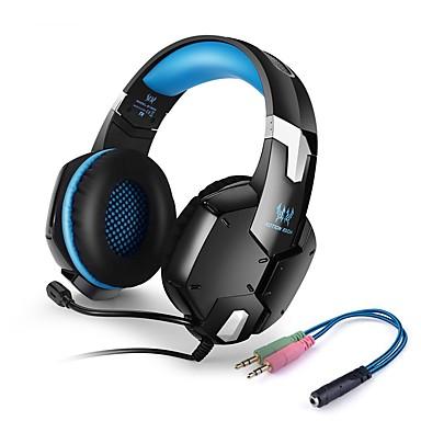 KOTION EACH G1200 Kuulokkeet (panta)ForMatkapuhelin TietokoneWithMikrofonilla Äänenvoimakkuuden säätö Gaming Kohinanpoisto