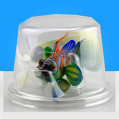Dekoracja Aquarium Sztuczna ryba Srebrzysty Żywica