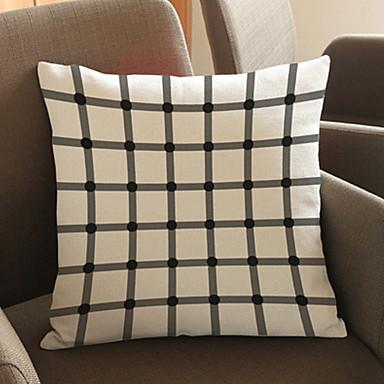 1 szt Bielizna Poszewka na poduszkę,Geometryczny Modern / Contemporary