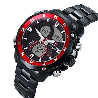 Męskie Sportowy Modny Zegarek na nadgarstek Kwarcowy Stop Pasmo Na co dzień Wielokoloroe