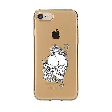 Için Şeffaf Temalı Pouzdro Arka Kılıf Pouzdro Karikatür Yumuşak TPU için AppleiPhone 7 Plus iPhone 7 iPhone 6s Plus/6 Plus iPhone 6s/6